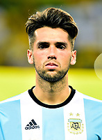 Conmebol - World Cup Fifa Russia 2018 Qualifier / <br /> Argentina National Team - Preview Set - <br /> Emmanuel Matias Mas
