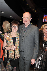 JIM BROADBENT and ANASTASIA LEWIS at A Night of Funk & Soul in aid of Save The Children held at The Roundhouse, Camden, London on 20th March 2013.
