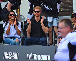 Prince Harry and Girlfriend spotted at the Invictus Games in Toronto Canada. 25 Sep 2017 Pictured: Prince Harry and Meghan Markle. Photo credit: 246paps/MEGA TheMegaAgency.com +1 888 505 6342