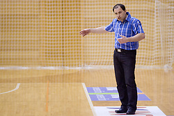 Coach of Kr. Gora Goran Jovanovic at 4th final match of Slovenian women basketball 1st league between Hit Kranjska Gora and ZKK Merkur Celje, on May 13, 2010, in Arena Vitranc, Kranjska Gora, Slovenia. Celje defeated Kr. Gora 71-60 and the result after 4th match is 2-2. (Photo by Vid Ponikvar / Sportida)