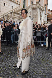 Rome, Piazza Del Campidoglio Event Gucci Parade at the Capitoline Museums, In the picture: Ghali