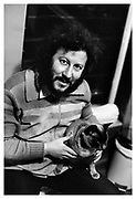 Peter Green at home in Surbiton 1970