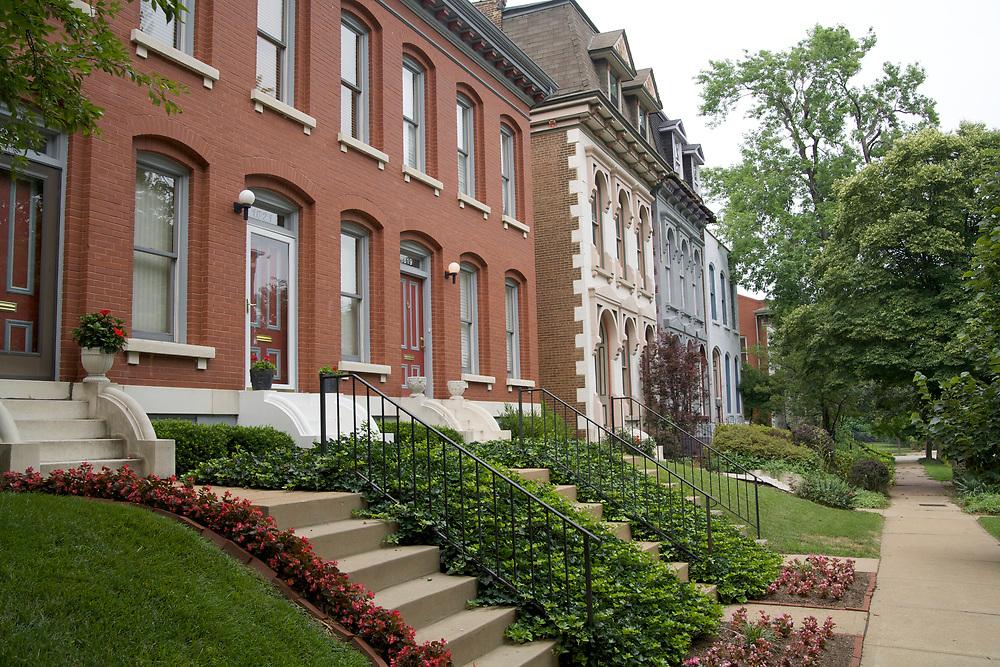 Lafayette Square neighborhood in St. Louis, Missouri