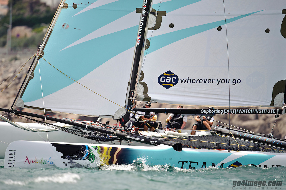 2010 Extreme Sailing Series Séte France. May 2010