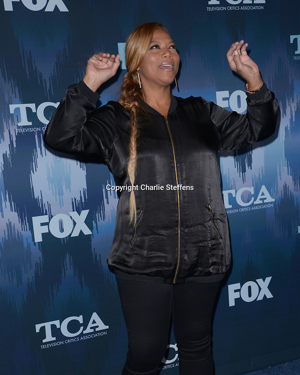 QUEEN LATIFAH at the Fox Winter TCA 2017 All-Star Party at the Langham Hotel in Pasadena, California