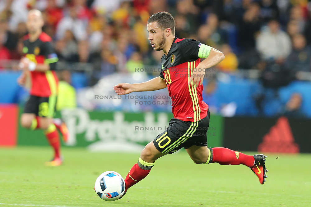 13-06-2016 FRA: UEFA EURO Belgie - Italie, Lyon<br /> België verliest met 2-0 van Italie / Eden Hazard (BEL)<br /> <br /> ***NETHERLANDS ONLY***