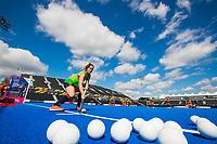 LONDEN -  Marloes Keetels (ned) tijdens de training in het Lee Valley Hockeystadium bij het  wereldkampioenschap hockey voor vrouwen. Het Nederlands elftal maakt zich op voor de kwartfinale .  COPYRIGHT KOEN SUYK