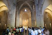 Jerusalem Altstadt, St. Annakirche innen, Israel.|.Jerusalem Old City, St. Ann's Church, interior, Israel.