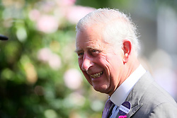 The Prince of Wales during day one of Royal Ascot at Ascot Racecourse.