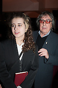 KATIE WYMAN; BILL WYMAN, Liberatum Cultural Honour  for John Hurt, CBE in association with artist Svetlana K-Lié.  Spice Market, W London - Leicester Square