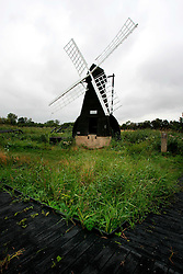 UK ENGLAND CAMBRIDGESHIRE WICKEN 7AUG06 - Old drains pump powered by a windmill on exhibition at the Wicken Fen National Nature Reserve, managed by the National Trust is one of Britain's oldest nature reserve dating back to the late 1800s...jre/Photo by Jiri Rezac..© Jiri Rezac 2006..Contact: +44 (0) 7050 110 417.Mobile:  +44 (0) 7801 337 683.Office:  +44 (0) 20 8968 9635..Email:   jiri@jirirezac.com.Web:    www.jirirezac.com..© All images Jiri Rezac 2006 - All rights reserved.