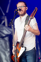 Scouting for girls live at the Pub in the Park's drive in Garden Party Henley photo by Brian Jordan