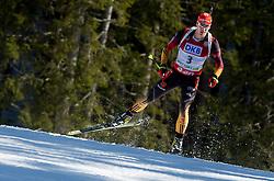 PEIFFER Arnd of Germany during Men 12.5 km Pursuit competition of the e.on IBU Biathlon World Cup on Saturday, March 8, 2014 in Pokljuka, Slovenia. Photo by Vid Ponikvar / Sportida