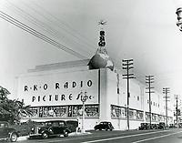 1937 RKO Radio Pictures Studio