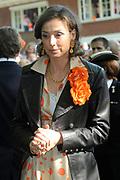 KONINGINNEDAG 2009 in Apeldoorn / Queensday 2009 in the city of Apeldoorn.<br /> <br /> Op de foto / On the Photo:  Princes Marilène