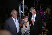 Philip Green, Chloe Green and Stuart Rose. Topshop Fashion Show and party. Berkeley Sq. London. 19  September 2005. ONE TIME USE ONLY - DO NOT ARCHIVE © Copyright Photograph by Dafydd Jones 66 Stockwell Park Rd. London SW9 0DA Tel 020 7733 0108 www.dafjones.com