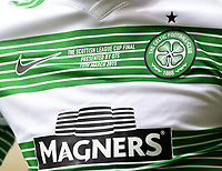 15/03/15 SCOTTISH LEAGUE CUP FINAL<br /> DUNDEE UTD v CELTIC<br /> HAMPDEN - GLASGOW<br /> Celtic wear a specially made kit for today's cup final