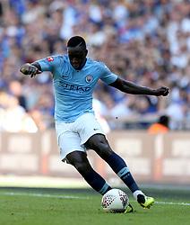 Manchester City'€™s Benjamin Mendy in action