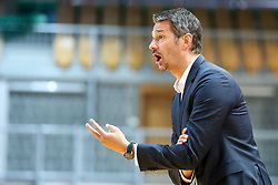 Jurica Golemac, head coach of Sixt Primorska during basketball match between Sixt Primorska and MZT Skopje Aerodrom in ABA League Second division, on October 11, 2018 in Dvorana Bonifika, Koper, Slovenia. Photo by Matic Klansek Velej / Sportida