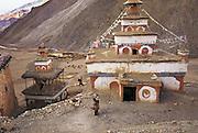 Guru Gompa. Dho Village. Dho Tarap Valley, Dolpo, Nepal.