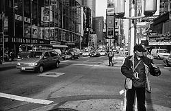 Streetlife in Manhattan, New York - Svipmyndir frá Manhattan í New York