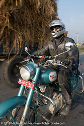 Jonathan Pite on day-9 of our Himalayan Heroes adventure riding from Pokhara to Nuwakot, Nepal. Wednesday, November 14, 2018. Photography ©2018 Michael Lichter.