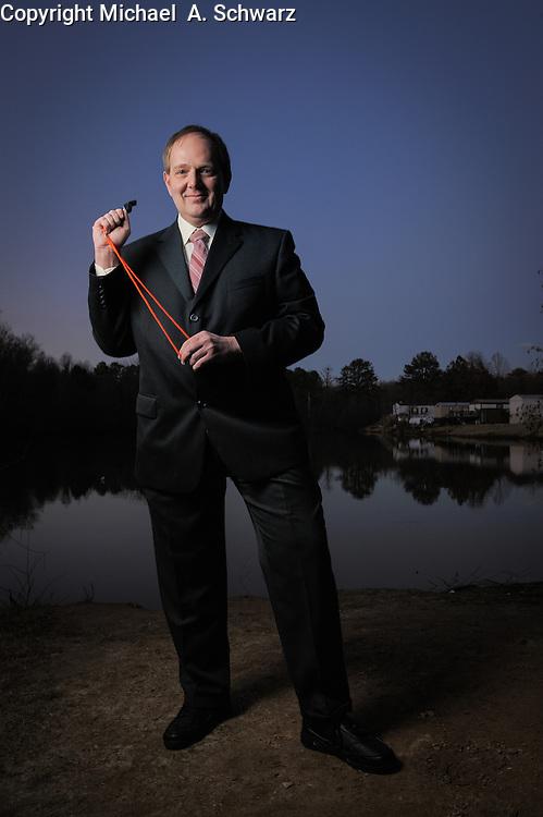 1/13/08  --Marietta, GA<br /> <br /> Ken Pedeleose, government whistleblower.<br /> <br /> Photo by Michael  A. Schwarz