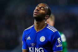 Ricardo Pereira of Leicester City cuts a frustrated figure - Mandatory by-line: Robbie Stephenson/JMP - 26/02/2019 - FOOTBALL - King Power Stadium - Leicester, England - Leicester City v Brighton and Hove Albion - Premier League
