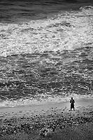 The Guy & The Gulf (monochrome)
