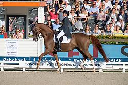 Ferrer-Salat Beatriz, ESP, Delgado<br /> European Championship Dressage<br /> Rotterdam 2019<br /> © Hippo Foto - Dirk Caremans