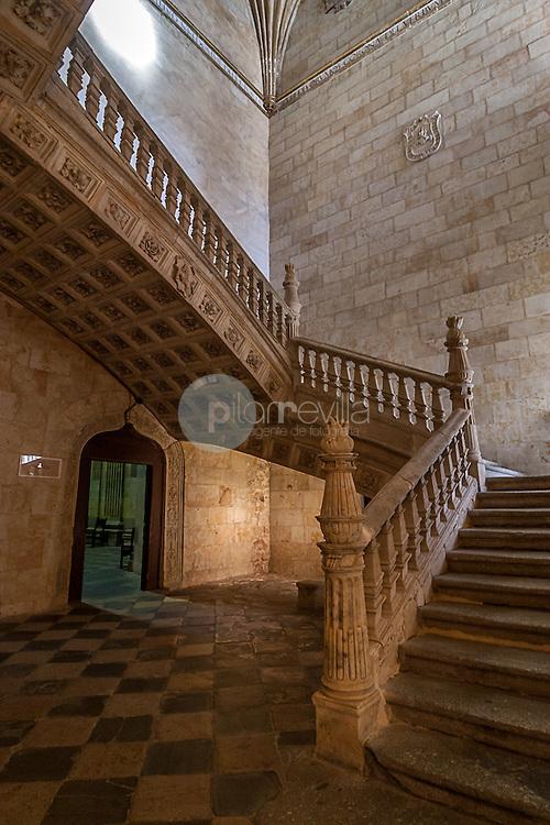 Escalera de Soto. Convento de San Esteban, Salamanca ©Javier Abad / PILAR REVILLA