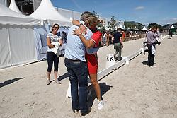 Van Olst Gert Jan, Van Olst Anne<br /> World ChampionshipsYoung Dressage Horses<br /> Ermelo 2018<br /> © Hippo Foto - Dirk Caremans<br /> 05/08/2018