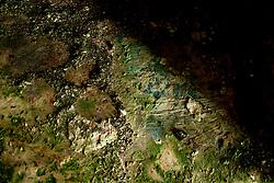 Reportage sul comune di Alessano per il progetto propugliaphoto..Tracce di affresco all'interno di un edificio rurale..Macurano è un villaggio rupestre considerato un luogo di scambio e commercio, simbolo della cultura dell'olio per la presenza ad oggi di alcune tracce nelle grotte e di frantoi funzionanti nella zona. L'insediamento è caratterizzato da una serie di grotte sia naturali che scavate nel calcare, cisterne per la raccolta dell'acqua, sistemi di canalizzazione che scendono da Montesardo, viottoli, scalette e vie più larghe con antiche tracce di carri..Si ritiene che in questo sito, un vero e proprio centro abitato ben organizzato distante circa quattro km dalla costa, i monaci basiliani scappati dall'oriente in seguito alla lotta iconoclasta, trovarono rifugio e si dedicarono all'agricoltura..L'area del villaggio rupestre fu sicuramente sfruttata in epoche successive, lo prova l'esistenza di ben tre masserie di cui una fortificata e i resti di una serie di costruzioni che fanno parte dei numerosi esempi di architettura rurale presenti in questo territorio. .Il complesso masserizio, denominato Macurano, edificato probabilmente nel Cinquecento include la Masseria di Santa Lucia e la cappella di Santo Stefano. La Masseria è dominata dal nucleo originario, ovvero dalla torre cinquecentesca coronata da beccatelli a sostegno del parapetto aggettante del terrazzo sommitale.