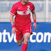 Turkey's Veysel SARI during their international friendly soccer match Turkey A2 betwen Lebanon A2 at Kasimpasa Recep Tayyip Erdogan stadium in Istanbul June 01, 2011. Photo by TURKPIX