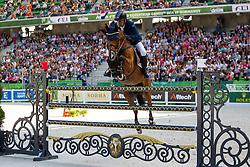 Geir Gulliksen, (NOR), Edesa S Banjan, World Champions, - Second Round Team Competition - Alltech FEI World Equestrian Games™ 2014 - Normandy, France.<br /> © Hippo Foto Team - Leanjo De Koster<br /> 25/06/14