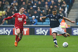March 30, 2018 - London, England, United Kingdom - James Meredith of Millwall.during Championship match between Millwall against Nottingham Forest at The Den stadium, London  England on 30 March  2018. (Credit Image: © Kieran Galvin/NurPhoto via ZUMA Press)
