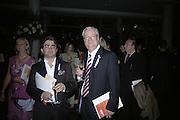 Dorian Jabri AND  Rt.hon. Chris Smith, Royal Festival Hall First Night Gala. Southbank Centre. London. 11 June 2007.  -DO NOT ARCHIVE-© Copyright Photograph by Dafydd Jones. 248 Clapham Rd. London SW9 0PZ. Tel 0207 820 0771. www.dafjones.com.