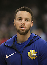 January 6, 2018 - Los Angeles, California, U.S - Stephen Curry #30 of the Golden State Warriors during warm ups prior to their NBA game with the Los Angeles Clippers on Saturday January 6, 2018 at the Staples Center in Los Angeles, California. Clippers vs Warriors. (Credit Image: © Prensa Internacional via ZUMA Wire)