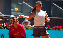 May 4, 2019 - Madrid, MADRID, SPAIN - Daria Kasatkina of Russia in action during the first round of the 2019 Mutua Madrid Open WTA Premier Mandatory tennis tournament (Credit Image: © AFP7 via ZUMA Wire)