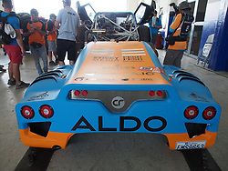 January 5, 2019 - Lima, Lima, Peru - Century 390, David Bensadoun and Patrick Beaule from Canada, Aldo Racing team, passing the technical scrutineering. The Dakar rally runs this year 100% in Peru. (Credit Image: © Carlos Garcia Granthon/ZUMA Wire)