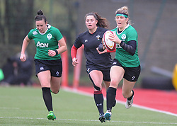 Ireland women's Alison Miller<br /> <br /> Photographer Mike Jones/Replay Images<br /> <br /> International Friendly - Wales women v Ireland women - Sunday 21st January 2018 - CCB Centre for Sporting Excellence - Ystrad Mynach<br /> <br /> World Copyright © Replay Images . All rights reserved. info@replayimages.co.uk - http://replayimages.co.uk