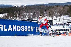 March 16, 2019 - Falun, SVERIGE - 190316 Maiken Caspersen Falla of Norway  during the FIS Cross-Country World Cup on march 16, 2019 in Falun  (Credit Image: © Daniel Eriksson/Bildbyran via ZUMA Press)