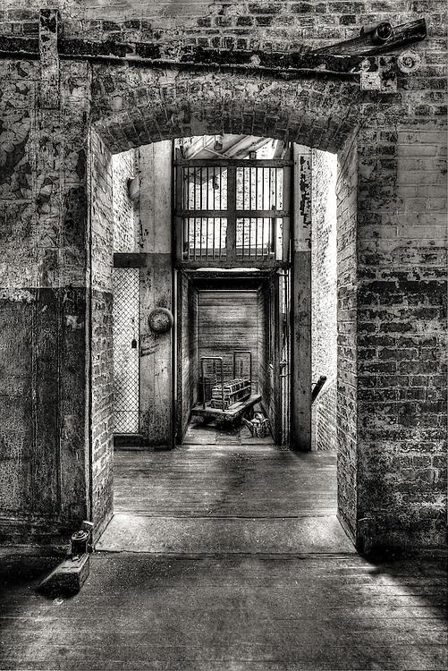 elevator in the Lonaconing Silk Mill