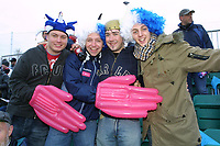 Photo: Dave Linney.<br />Chasetown v Oldham Athletic. The FA Cup. 06/11/2005.<br />Chasetown fans ready for the action.