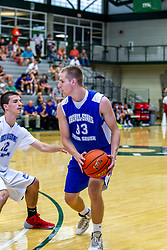 28 June 2014: Brady Rose 2014 Boys Illinois Basketball Coaches Association All Start game at the Shirk Center in Bloomington IL