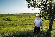 Kenneth and Barbara Goodin are Comanche indians who live on land settled by Kenneth's grandfather before the indian allotments.