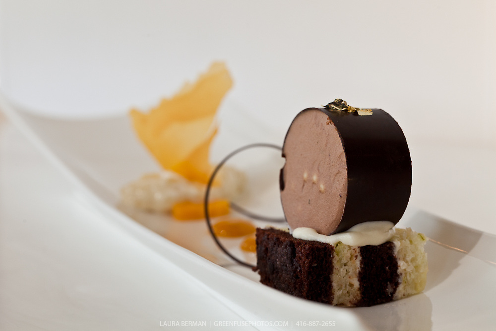 Plated Desserts at the Canadian Intercollegiate Chocolate Competition, sponsored by Cacao Barry Callebaut