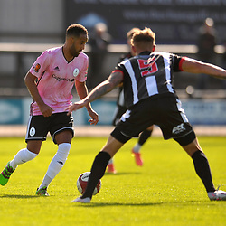 TELFORD COPYRIGHT MIKE SHERIDAN Brendon Daniels during the pre-season friendly between Stafford Rangers and AFC Telford United at Marston Road, Stafford on Saturday, September 12, 2020.<br /> <br /> Picture credit: Mike Sheridan/Ultrapress<br /> <br /> MS202021-024
