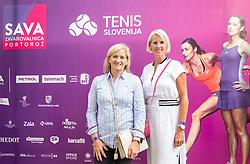 PORTOROZ, SLOVENIA - SEPTEMBER 16:  Petra Juvancic at Zdruzenje manager VIP tournament during the WTA 250 Zavarovalnica Sava Portoroz at SRC Marina, on September 16, 2021 in Portoroz / Portorose, Slovenia. Photo by Vid Ponikvar / Sportida