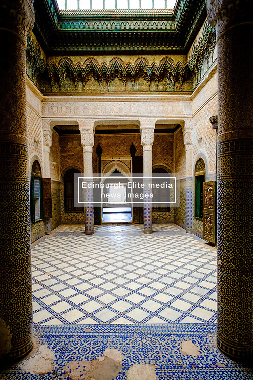Interior of the part ruined and abandoned Kasbah at Telouet, southern Morocco<br /> <br /> (c) Andrew Wilson | Edinburgh Elite media
